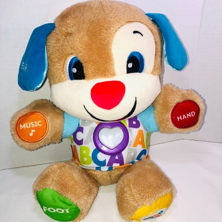 Fisher Price Smart Stages Puppy Plush