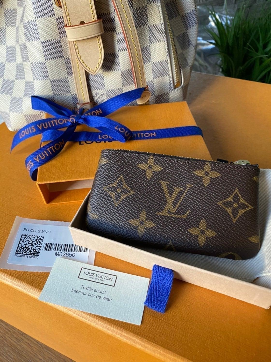 SOLD Louis Vuitton Monogram Key Pouch