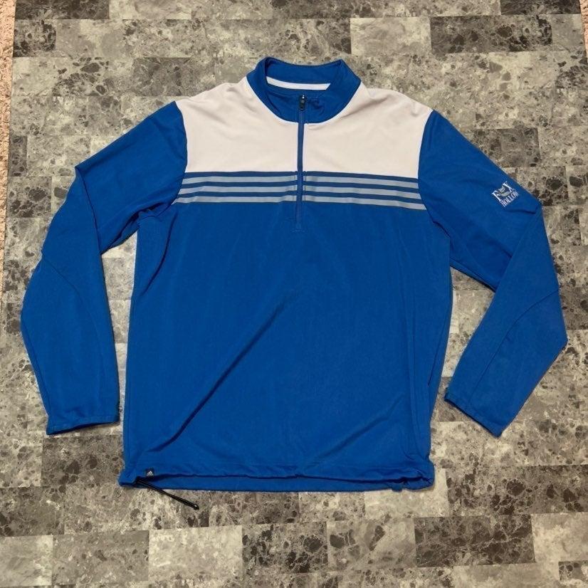 Adidas quarter zip jacket