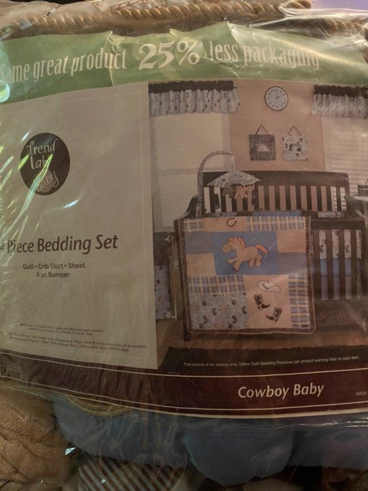 Trend Lab Baby Cowboy Crib Set