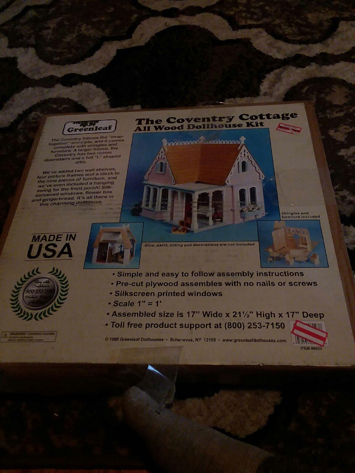 doll house building kit