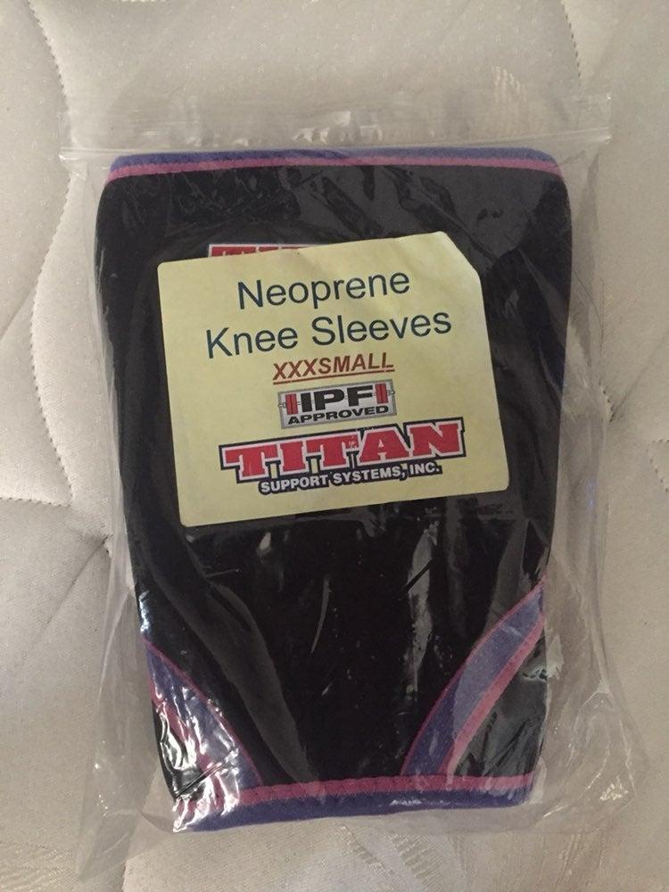 Titan Neoprene Knee Sleeves.