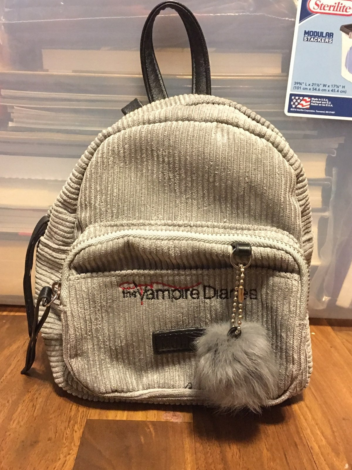 Vampire Diaries Miniature Zip Backpack