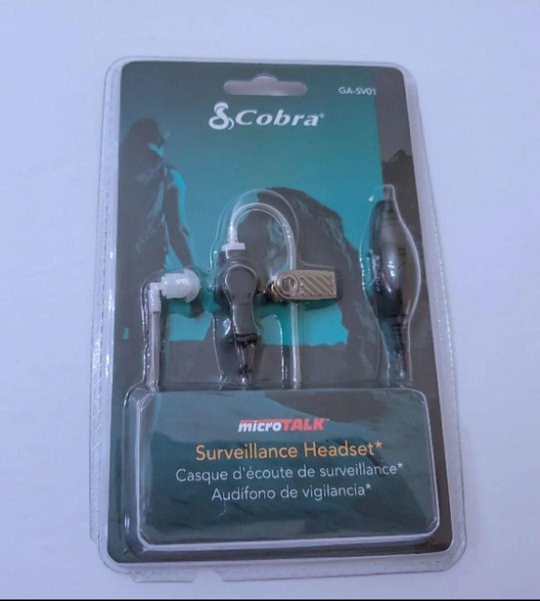 Cobra microTALK Surveillance Headset