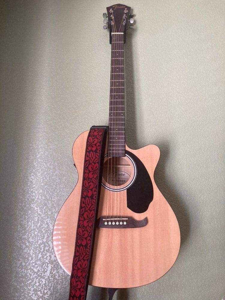 Fender electric acoustic guitar
