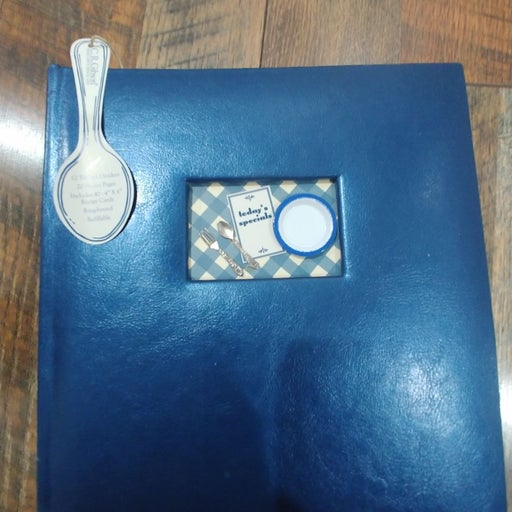Recipe Book by C.R. Gibson, NEW