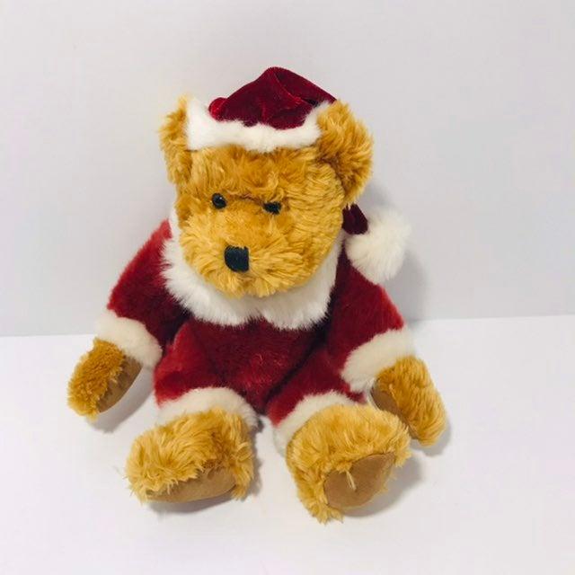 Russ Kris Christmas Plush Bear Vintage