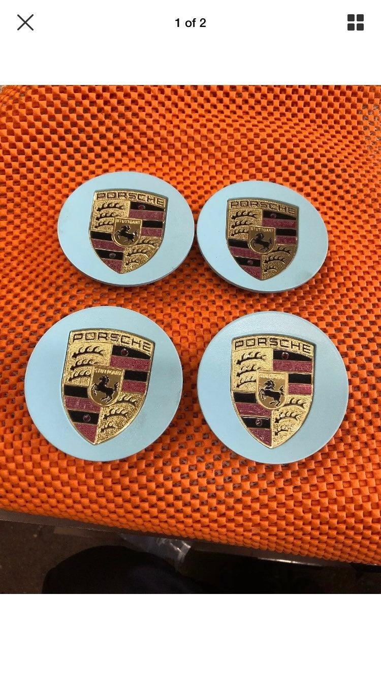 4 center cap  Porsche 76 mm new cusom