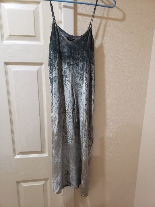 ATM Pewter XS Dress Saks 5th Off 5th