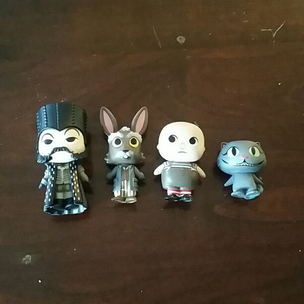 Alice in Wonderland mystery mini funko