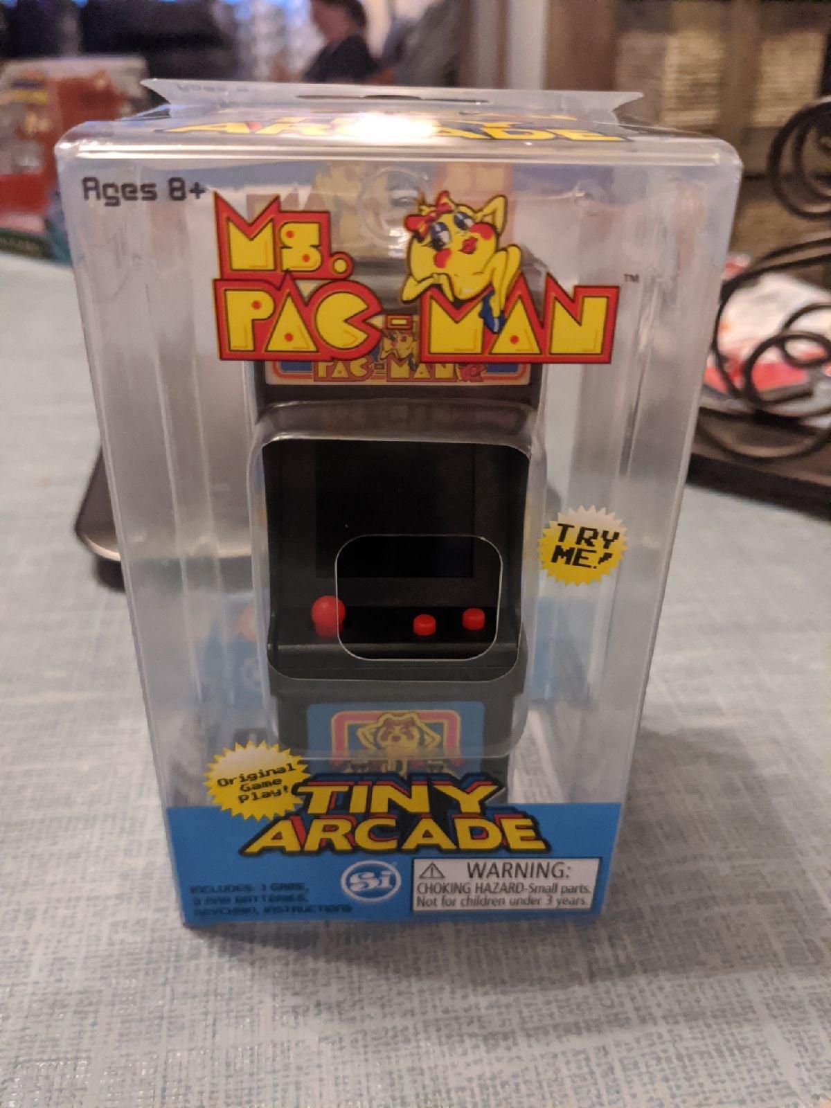 Ms. Pac-Man tony arcade NEW