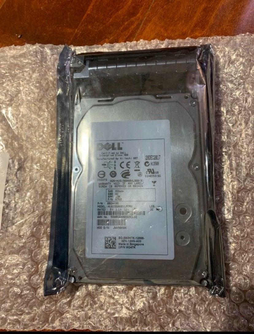 """Dell by Hitachi  600GB 3.5"""" SAS Hard Dri"""