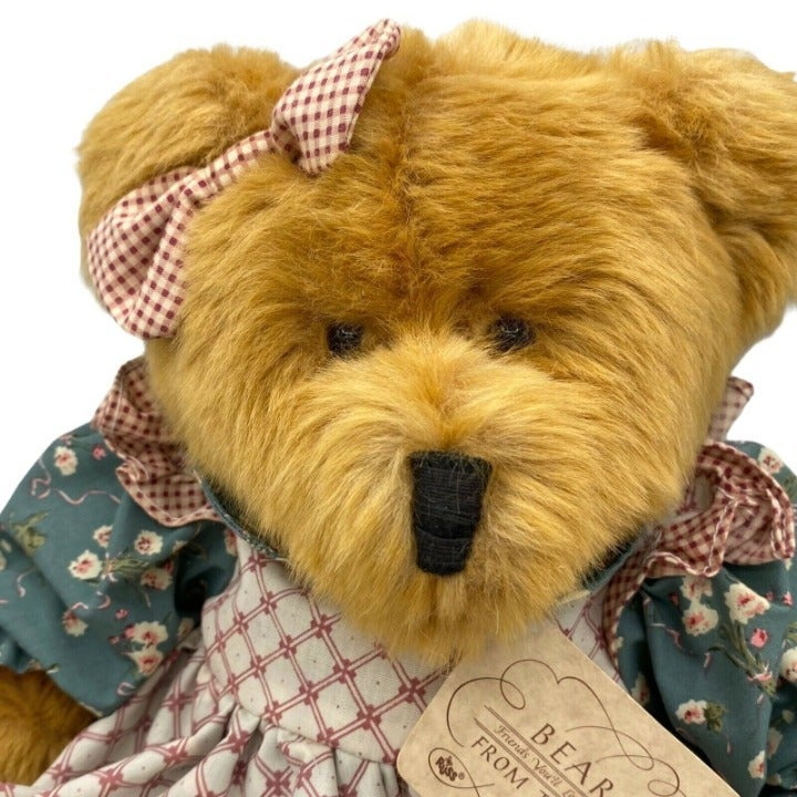 "Russ Teddy Bear 14"" MULBERRY Sweet Plush"