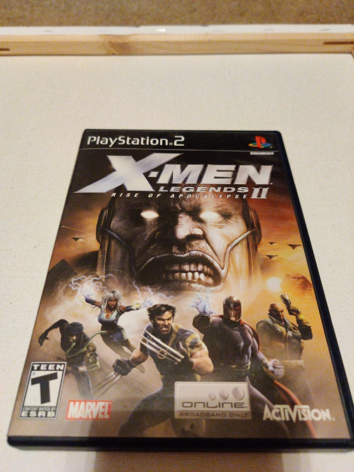 X-Men Legends 2 Game for Sony PS2