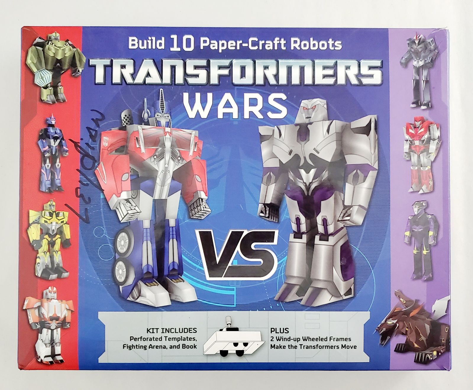 Transformers Wars Build Paper Craft Kit
