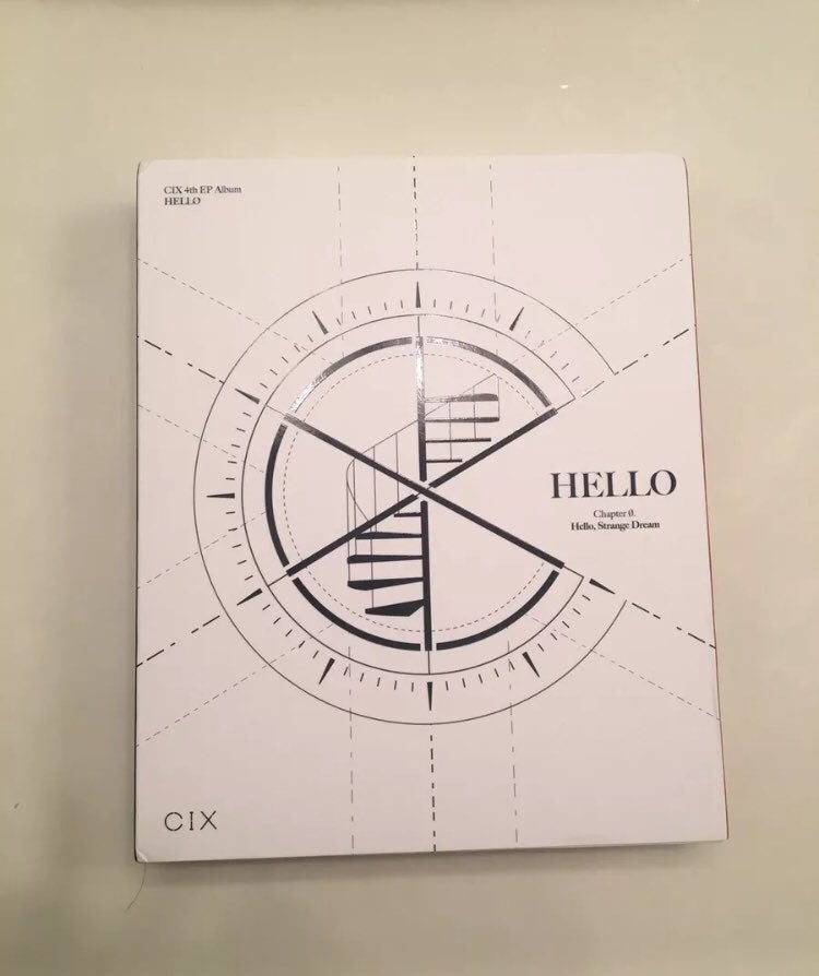 CIX Ch 0 Album w/ Jinyoung Poster
