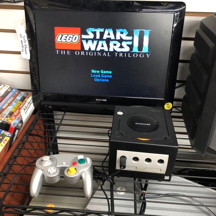 Nintendo Gamecube Console w/ Lego Starwa