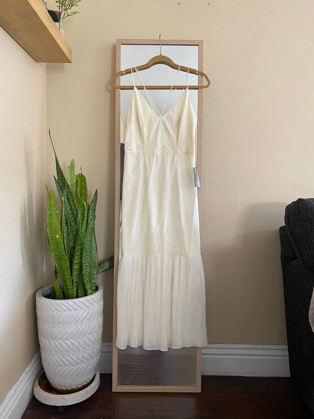 Cooper St Ivory Lace Midi Dress