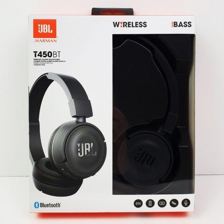 JBL T450BT Wireless Bluetooth Headphones