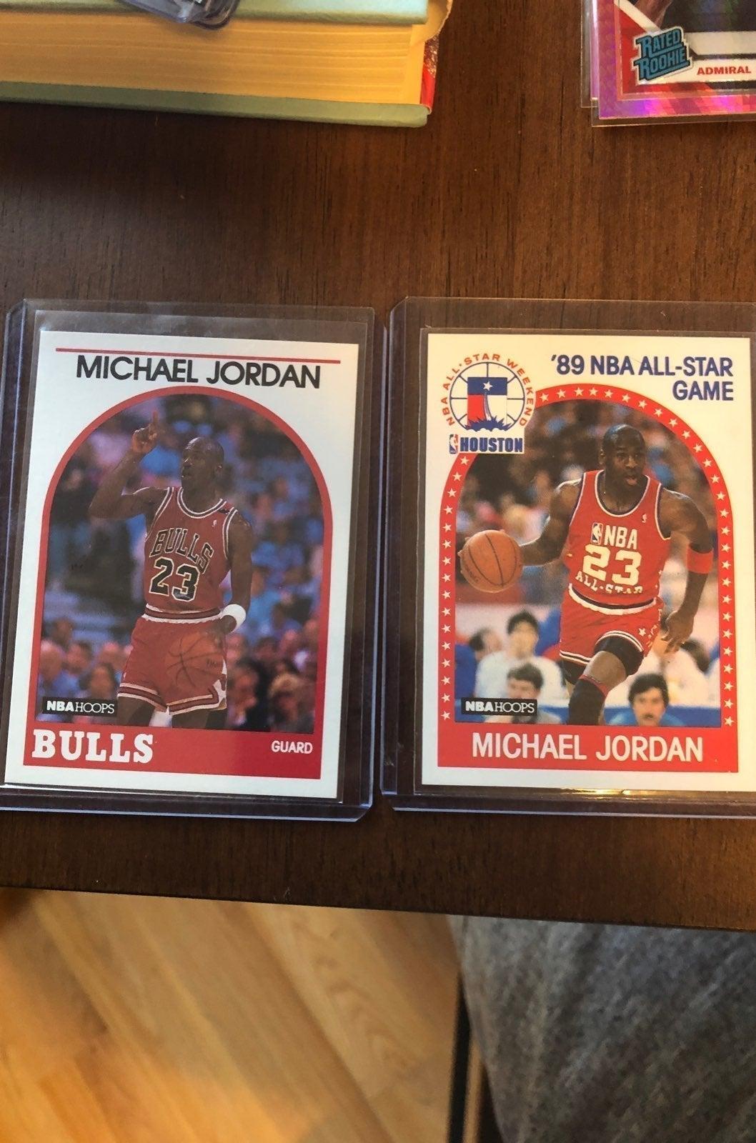 michael Jordan cards Hoops 1989