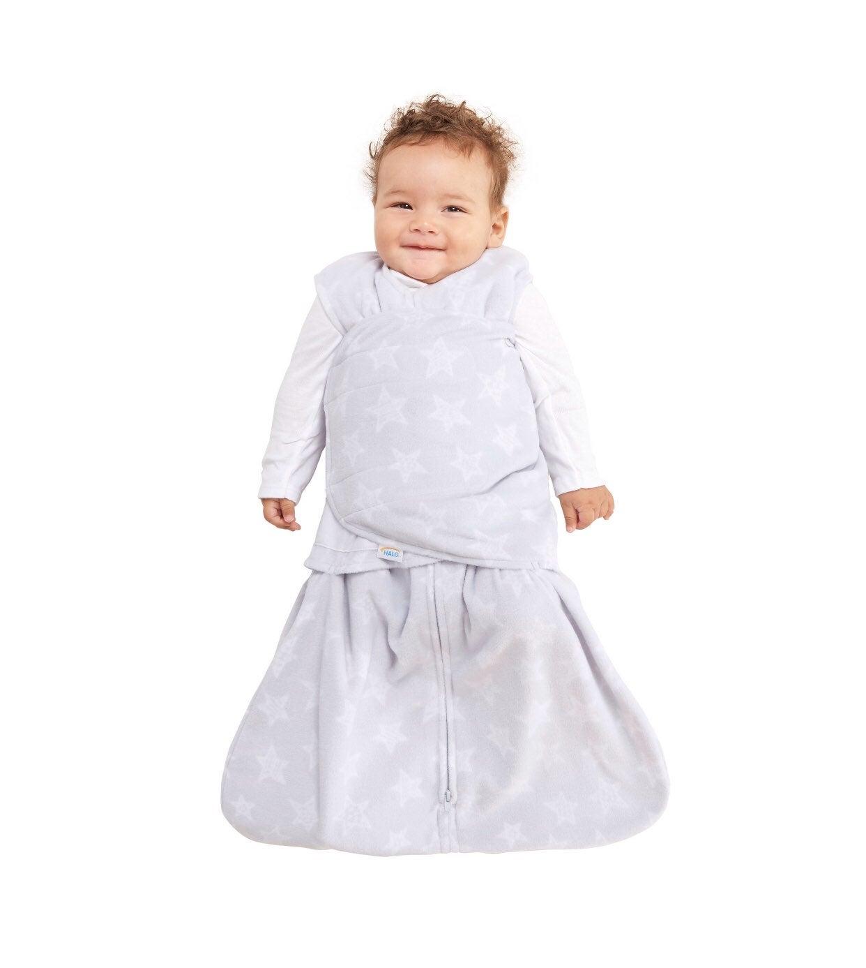 Halo innovations sleep sack fleece swadd
