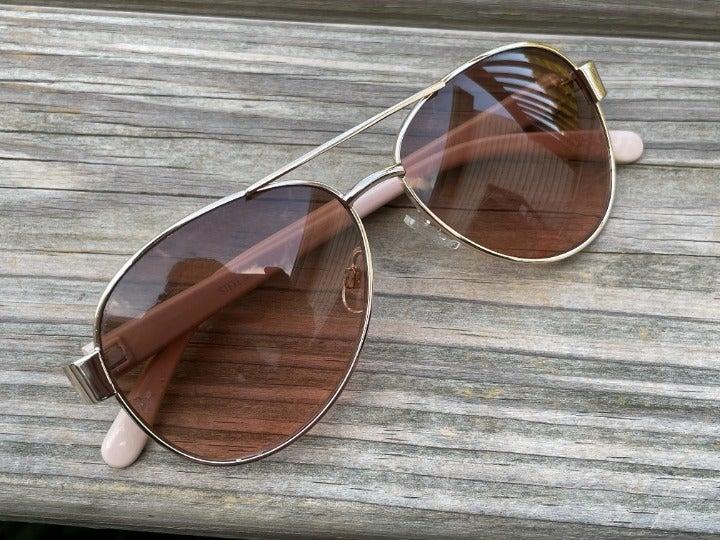 Steve Madden Women Sunglasses Gold Brown