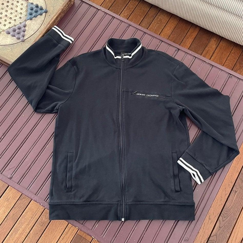 Armani Exchange Full Zip Jacket Men's XL