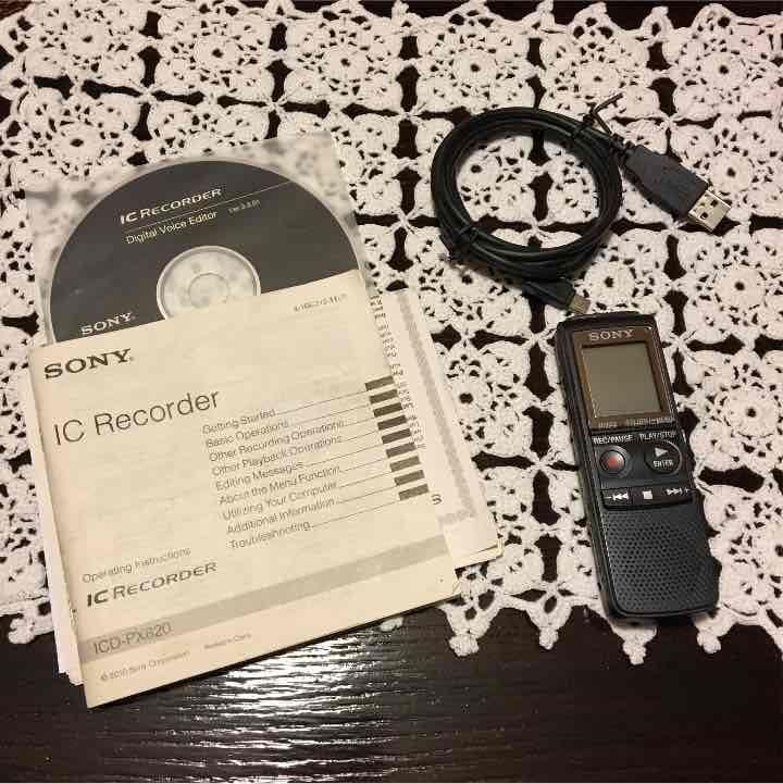 Sony ic recorder