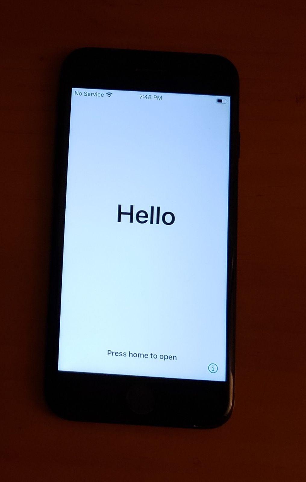 iPhone 7 Black 256 gigabytes