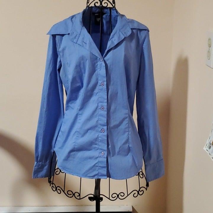 Modal International blue shirt size S