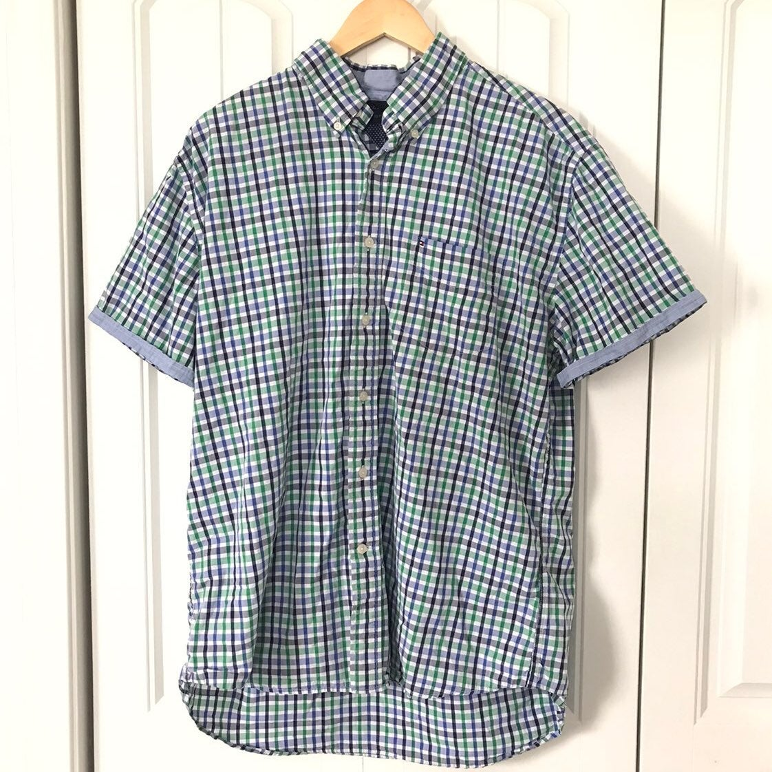 Tommy Hilfiger short sleeve button down
