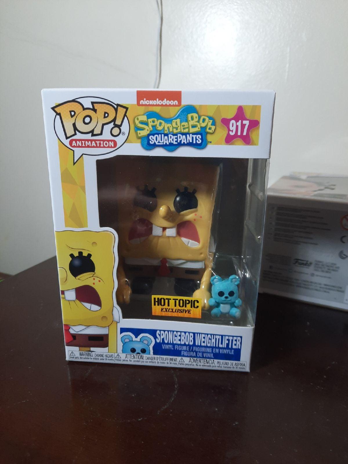 Spongebob Weightlifter funko Pop 917 ht