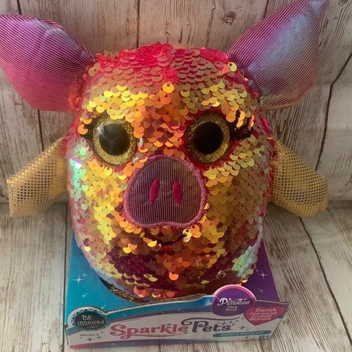 Sparkle Pets Plush Pinkie the Pig