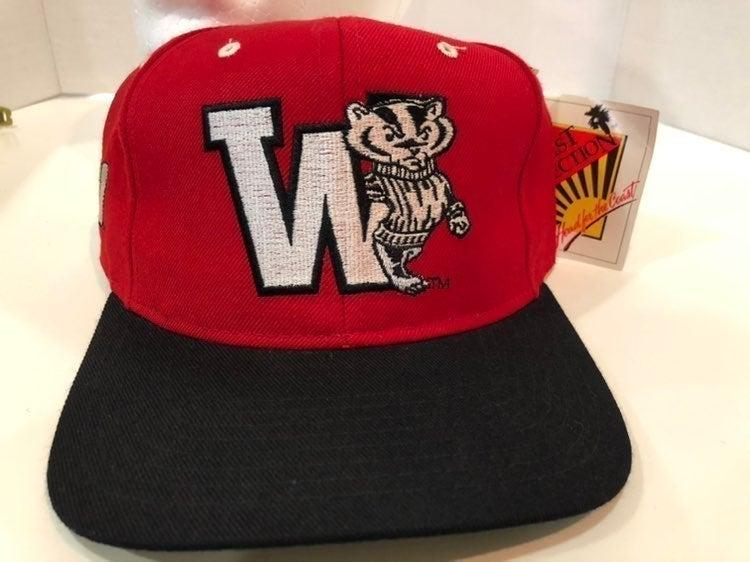 Vintage Wisconsin University cap