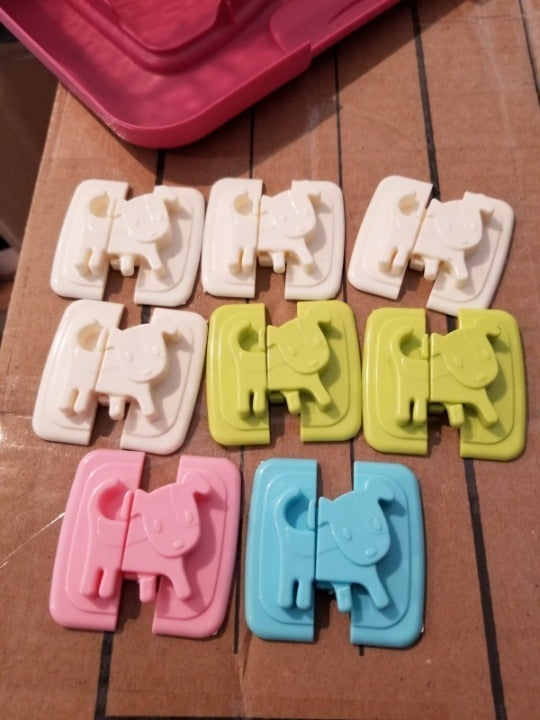 4pcs Puppy Shape Safety Lock for Refrige