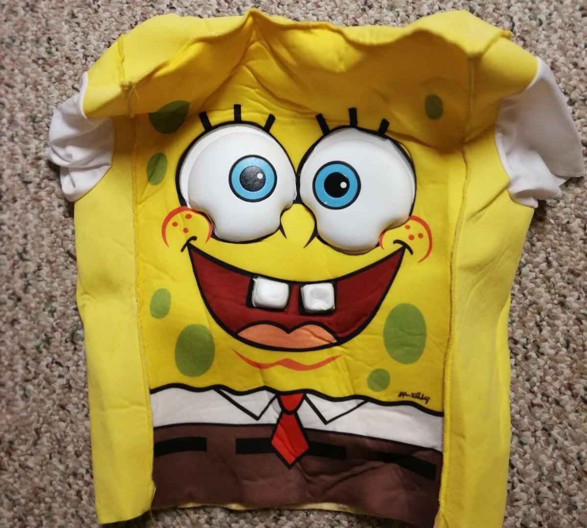 Spongebob halloween costume kids 4-6