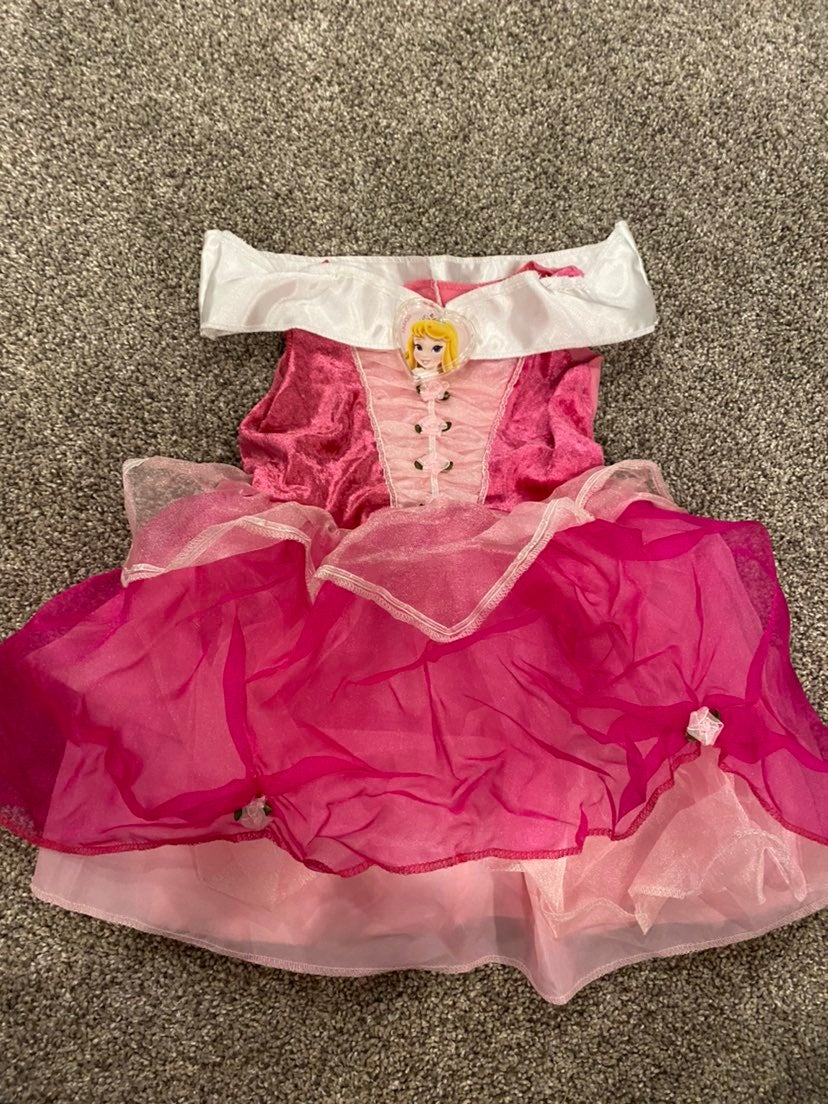 Disney princess Aurora dress 4t