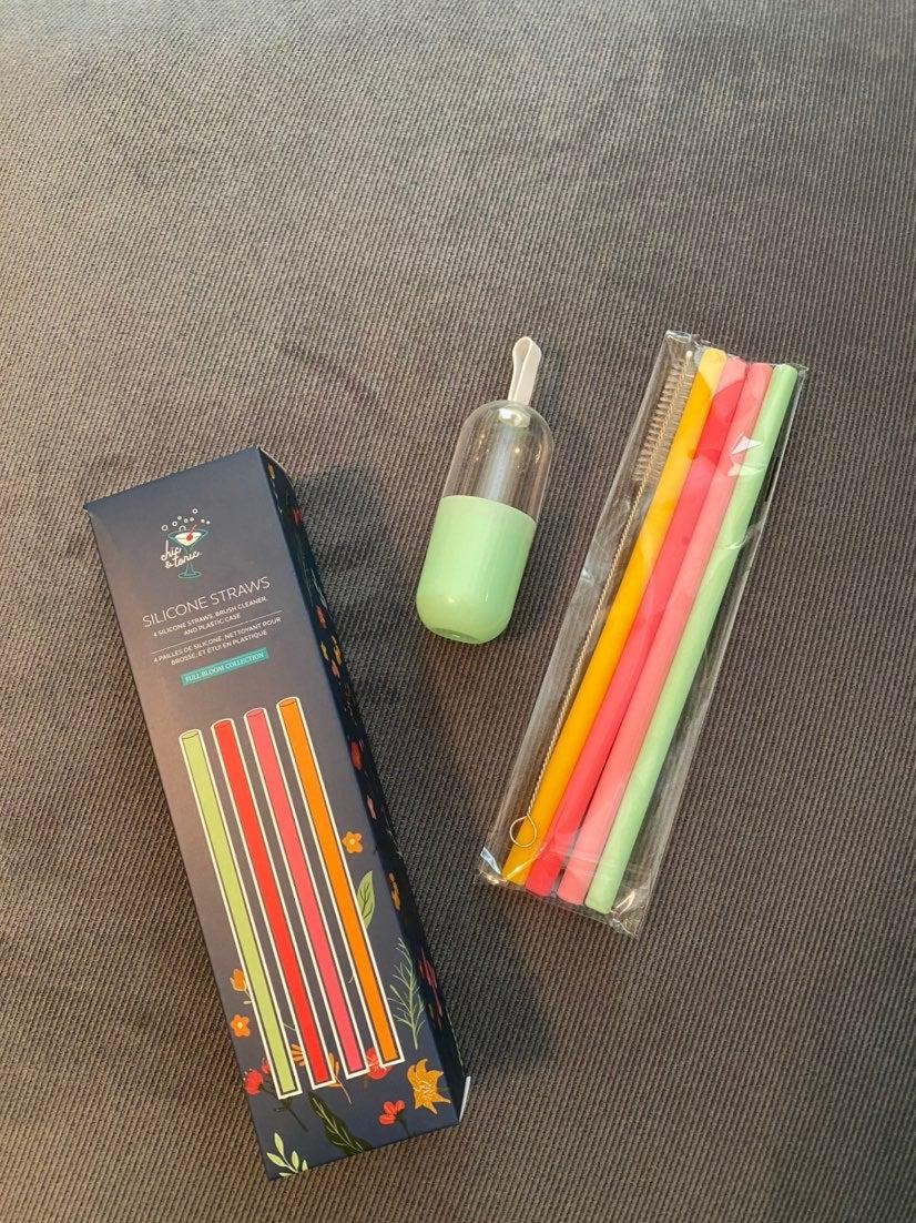 Silicone straws NEW
