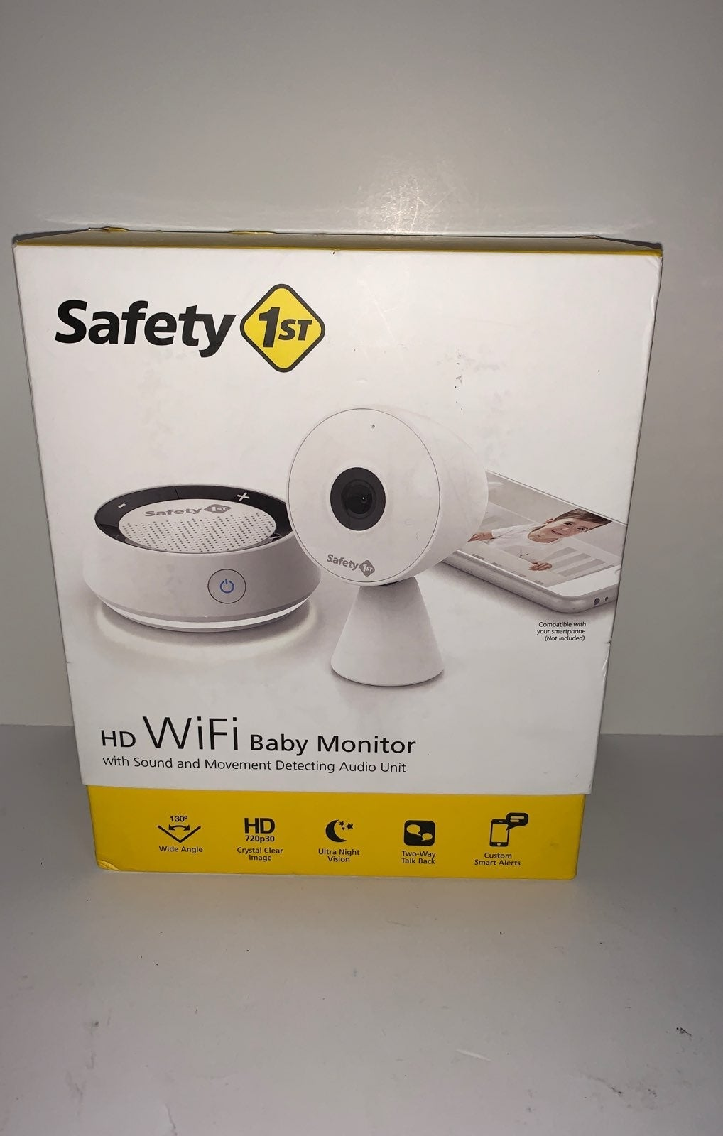 Brand New Safety First Baby WiFi monitor