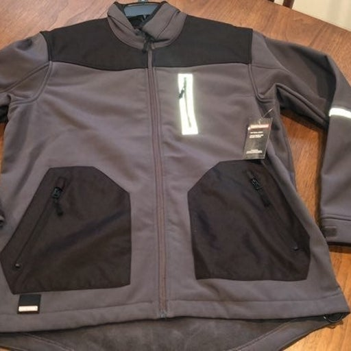 Craftsman softshell mens jacket-large