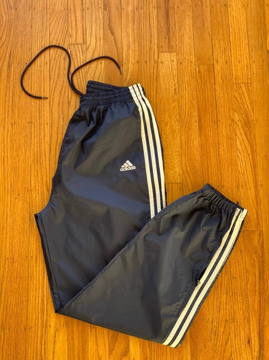 Vintage 90s Adidas Track Pants Sz L