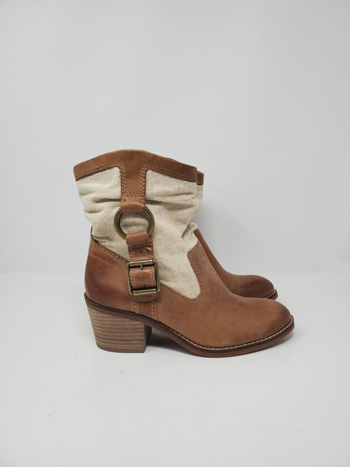 NEW LUCKY BRAND LEATHER BOOTIE