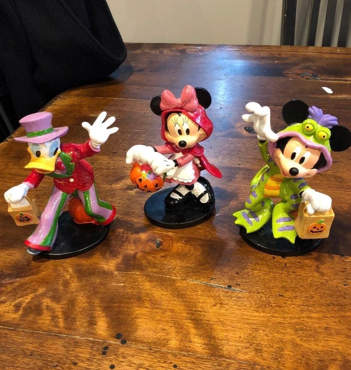Rare Disney Halloween figures cvs