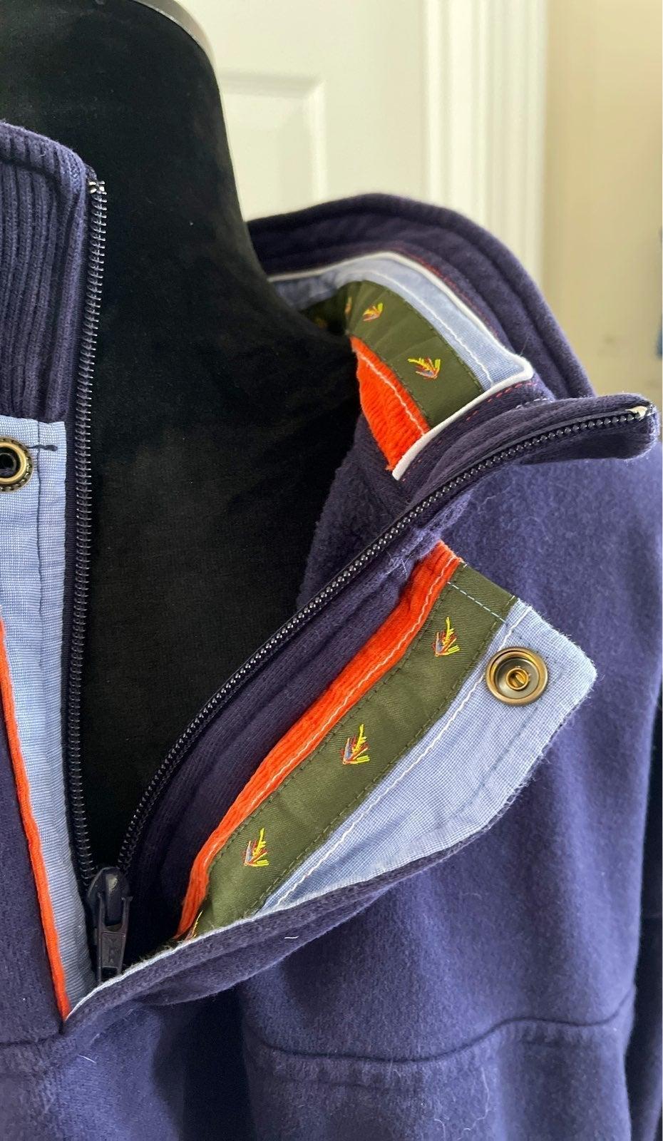 Orvis half zip pull over Mens size XXL