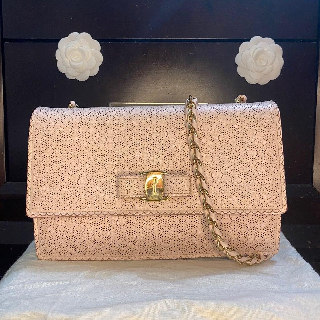 Salvatore Ferragamo Ginny Perforated Bag