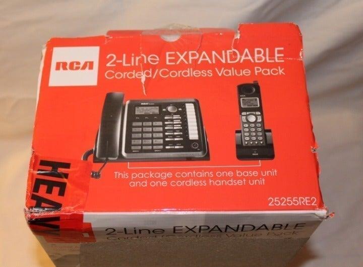 RCA 25255RE2 Dect_6.0 2-Handset 2-Line