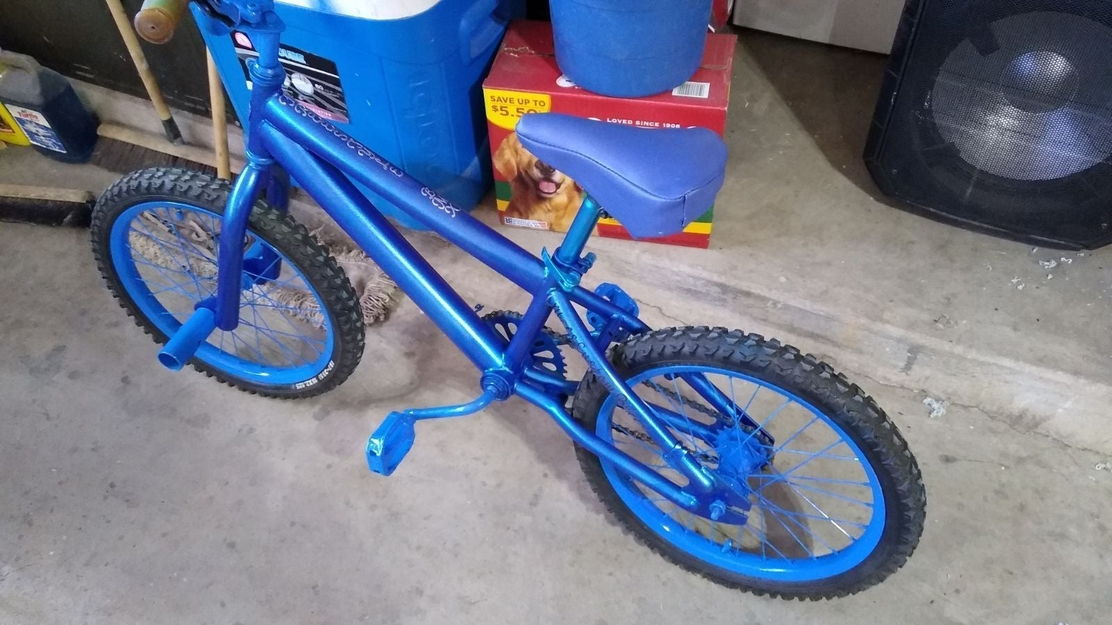 "Custom Kent 20"" freestyle BMX bike"