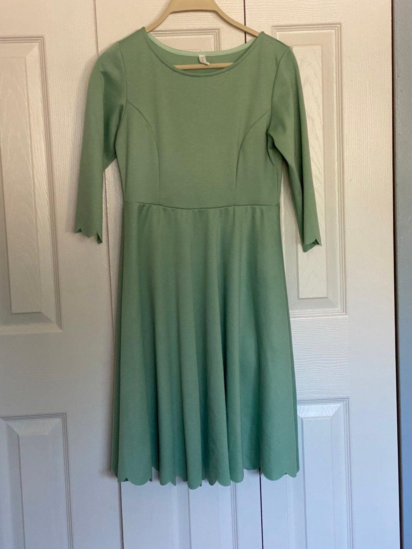 Pinkblush scalloped dress