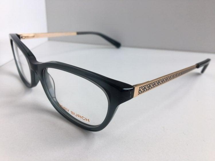 New Tory Burch  Green 52mm Eyeglasses
