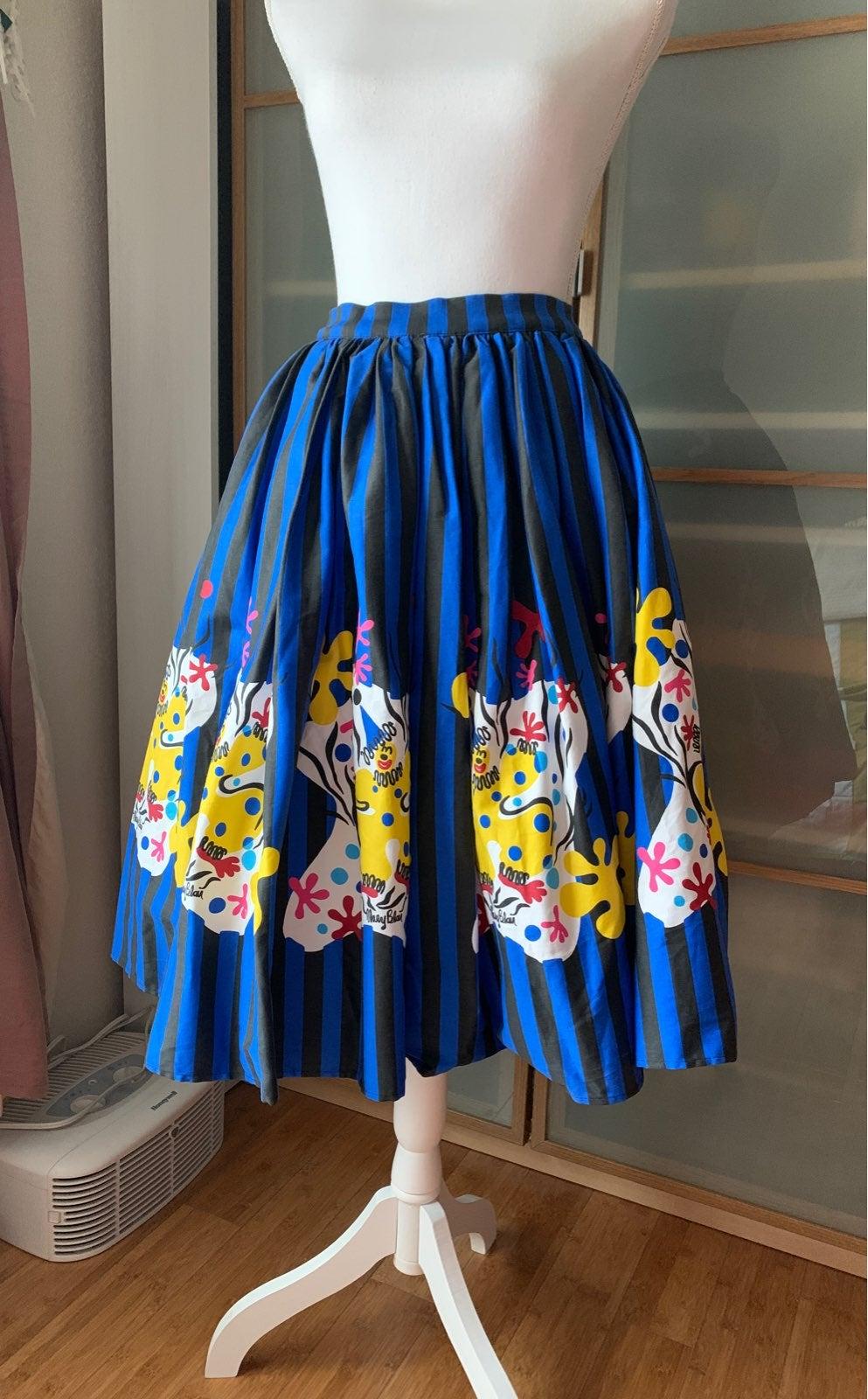 Mary Blair Pinup Girl Clothing Skirt